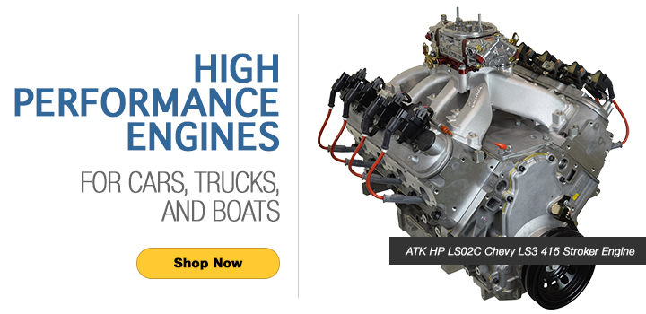 Atk High Performance Engines Remanufactured Engines Performance Crate Engine